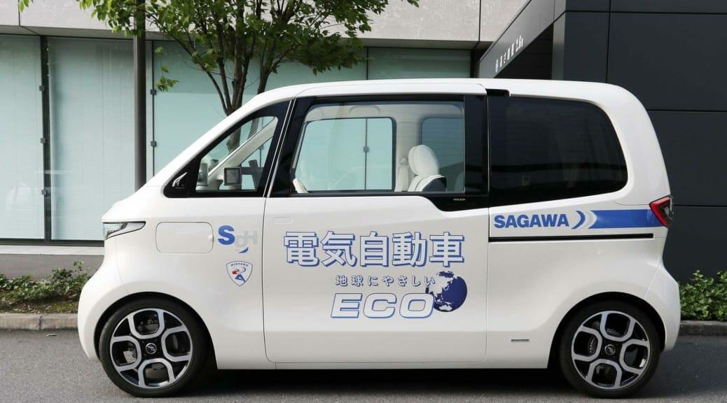 佐川急便が小型電気自動車をベンチャー企業と共同開発する理由とは
