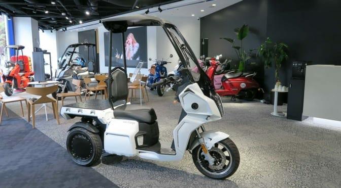 3輪電動スクーター『AAカーゴ』を発売した『アイデア』ってどんな会社?