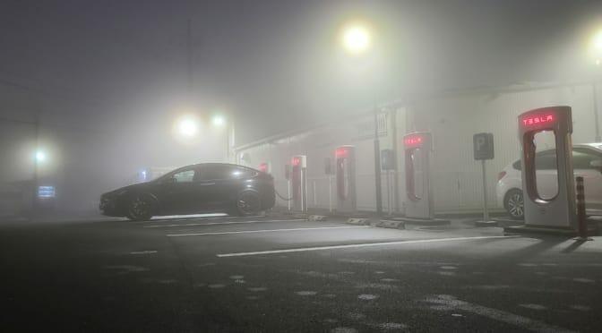 テスラモデルXで自動運転ノンストップ291km: 東京-福井5回目