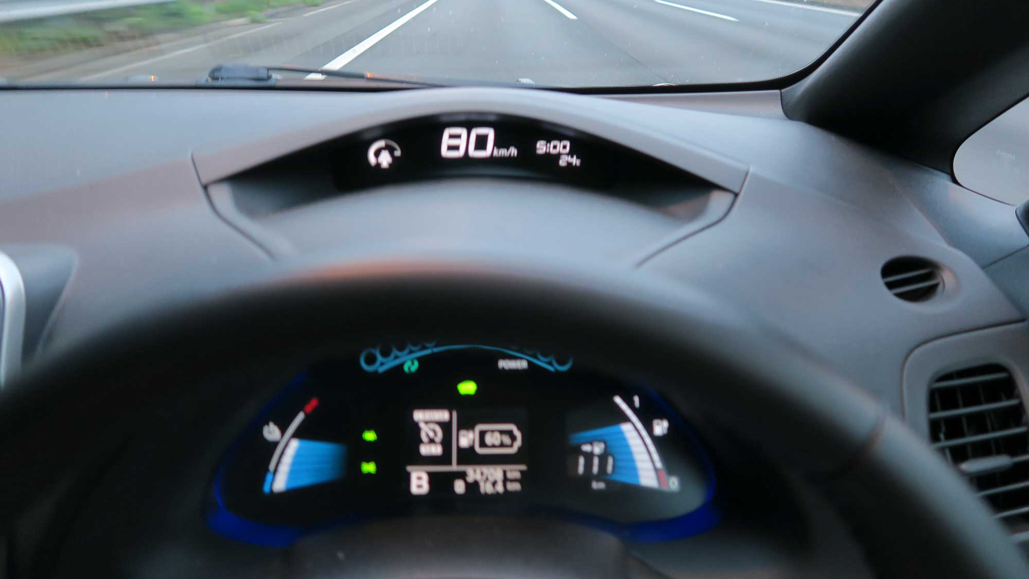 電気自動車の電費と巡航速度〜80km/hと100km/h でどのくらい違うか試し ...