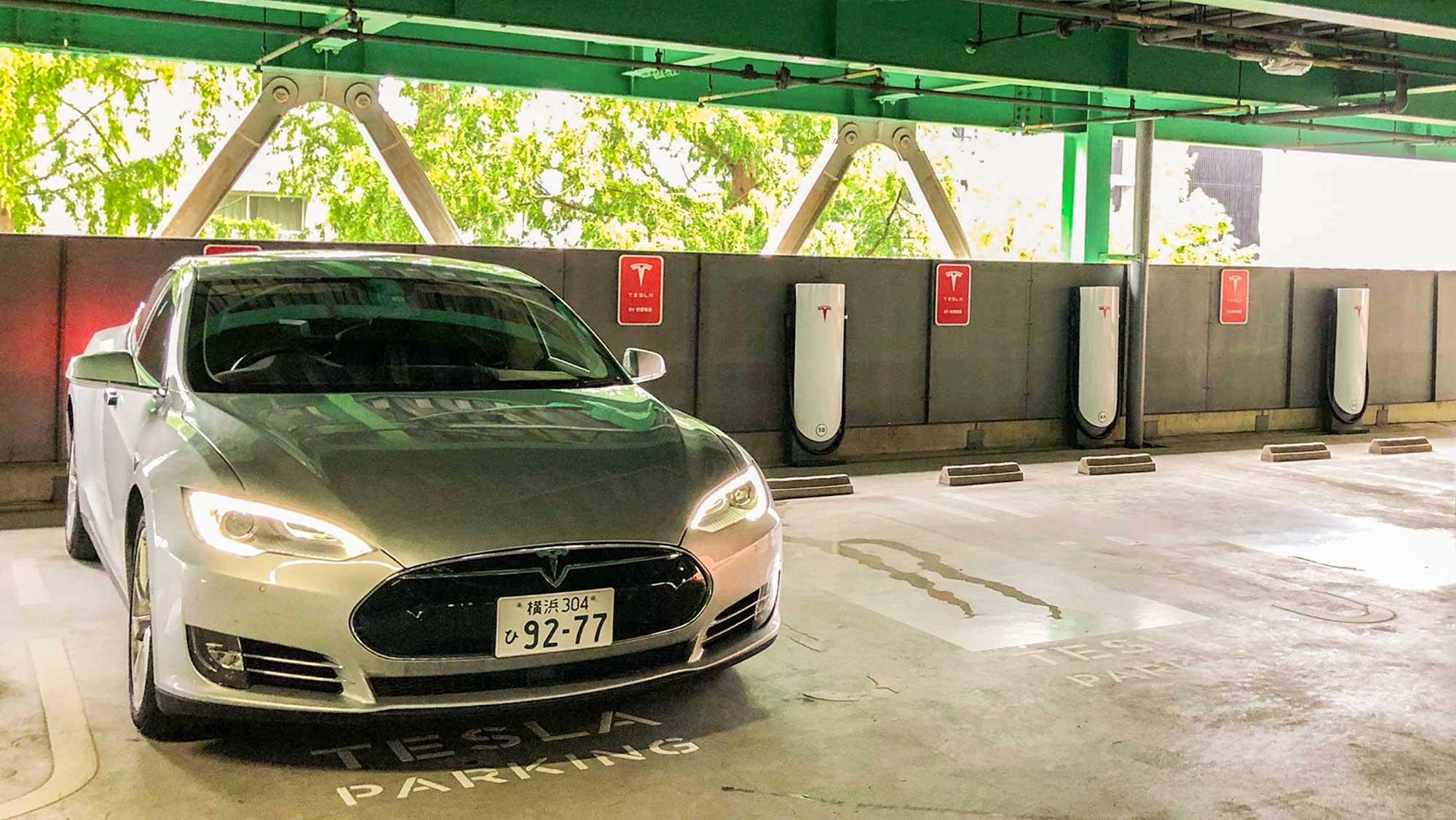 名古屋星が丘にテスラスーパーチャージャー開設〜電気自動車充電インフラってどうなんだ?   EVsmartブログ