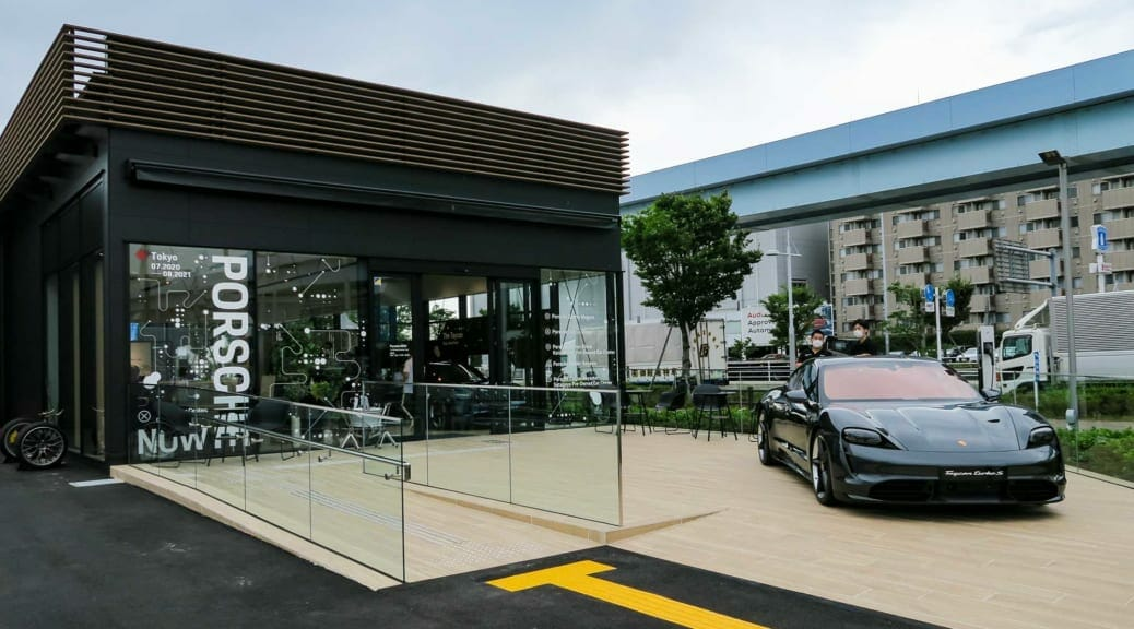 Porsche NOW Tokyoで開催された『Taycan Touch & Feel Day』独占取材〜ポルシェターボチャージャーも設置