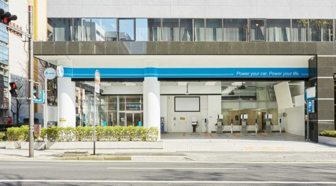 電気自動車充電のビジネスモデルを模索する「EV Charging Station」が横浜にオープン
