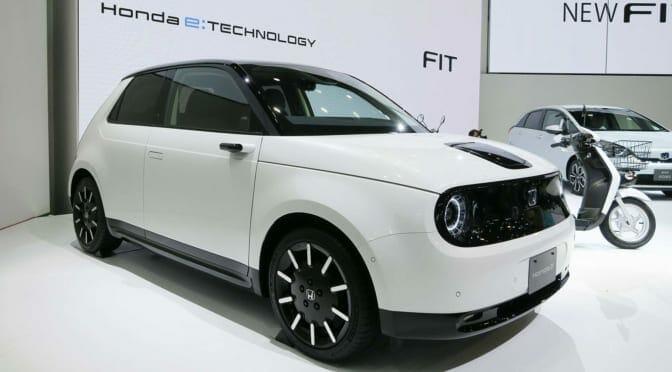 Honda e(ホンダ e)日本発売〜国内販売計画台数は年間1000台だけ
