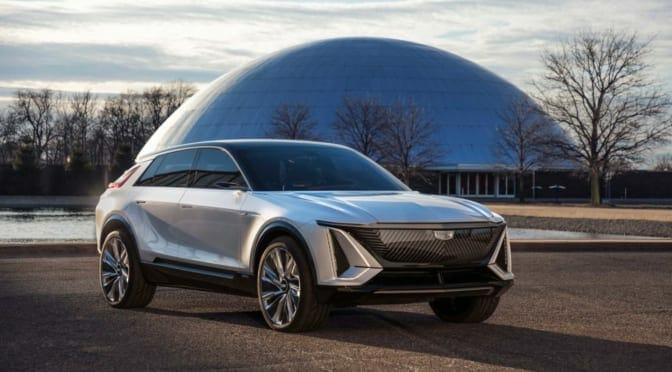 キャデラック(GM)が『リリック』を発表〜世界の電気自動車シフトがまた前進