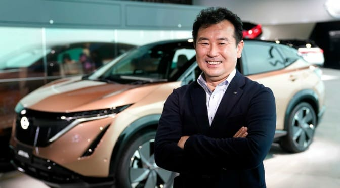 The new Nissan ARIYA: an exclusive interview with Nissan Chief engineer Hikaru Nakajima.