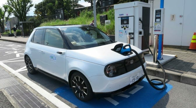 『Honda e』を『EveryGo』で予約GET〜急速充電もやってみた試乗速報