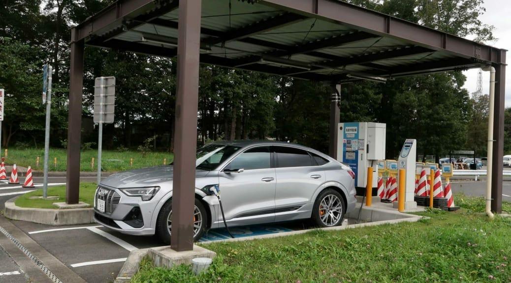 アウディ『e-tron スポーツバック』で長距離ドライブ〜カタログ値より電費がいい!