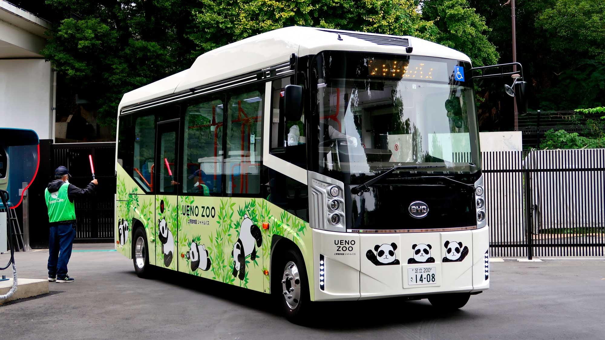 上野動物園にBYDの電気自動車小型バス『J6』が国内初導入〜突撃試乗レポート