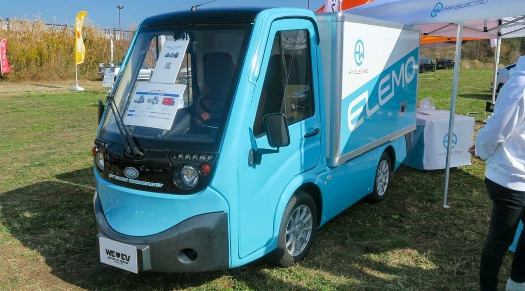 小型商用電気自動車『ELEMO』を発売するベンチャー企業『HW ELECTRO』の心意気とは