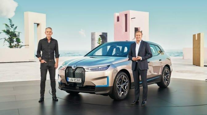 BMWが電気自動車『iX』を発表〜今後10年間で460万台のEV販売が目標