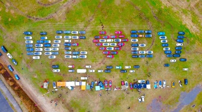第1回『Japan EV Meetup』開催〜124台の電気自動車が富士の裾野に集結