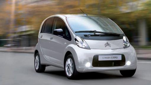 CitroënへのOEMモデル「C-zero」