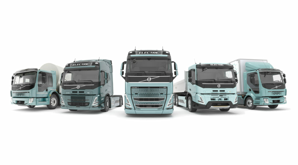 2025年までにすべてのトラックを電気と燃料電池モデルにするとボルボが発表