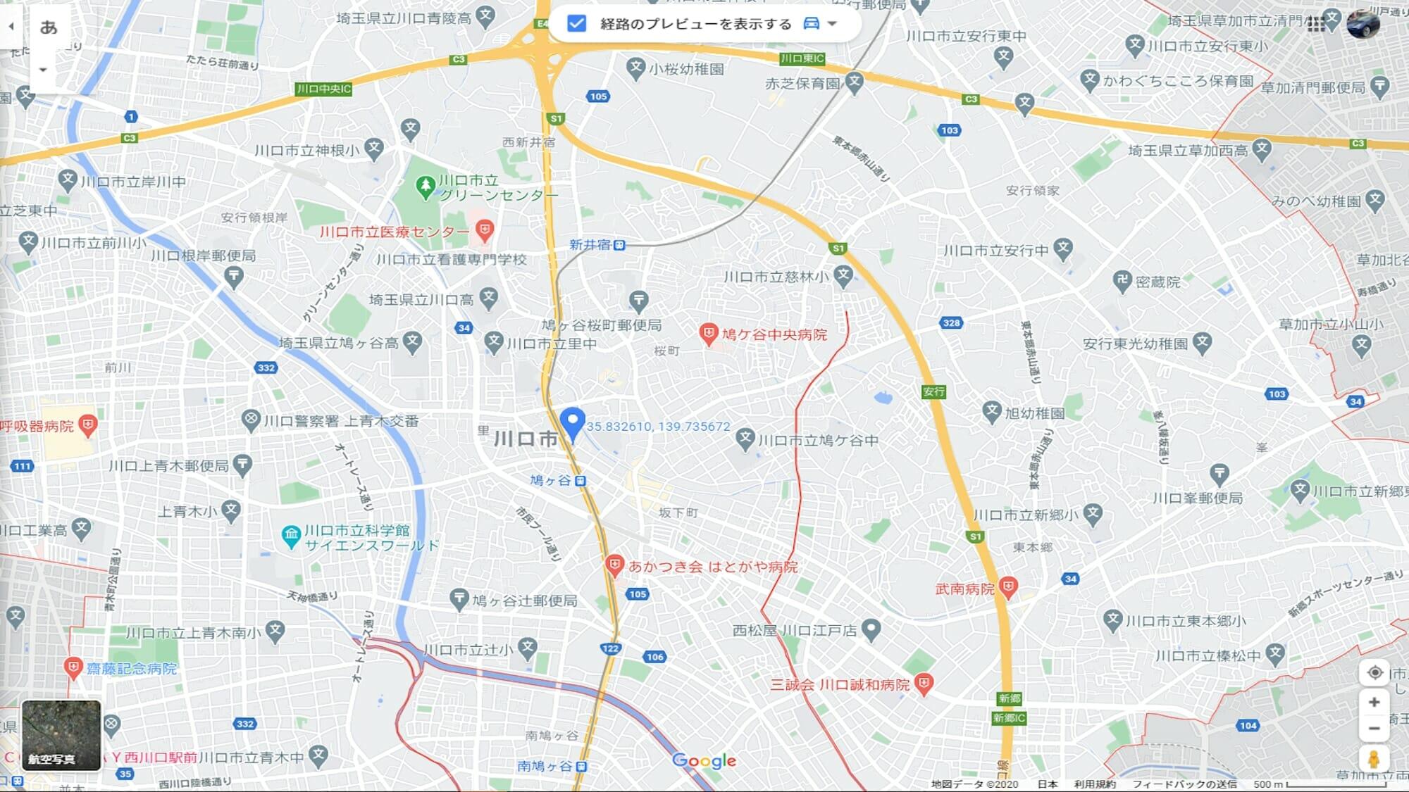 都内からの場合は新郷IC降りすぐ左折。混んでると左折しずらいです。新井宿ICまで行くのもアリです。