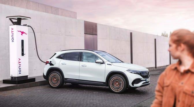 メルセデス・ベンツが電気自動車エントリーモデル『EQA』を欧州で発表
