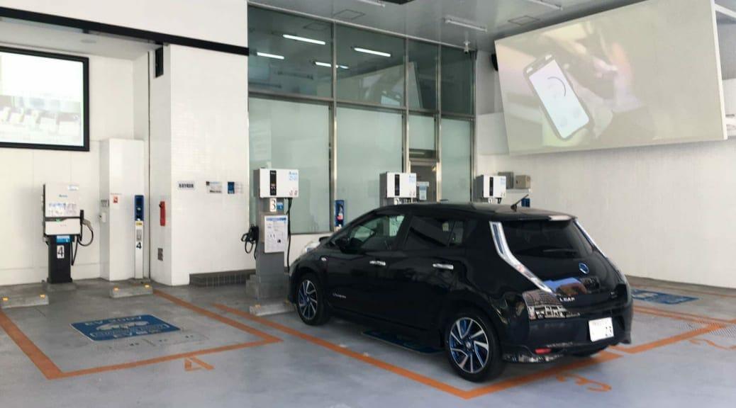 充電生活体感記/横浜『Delta EV Charging Station』で充電しながら中華街ランチの巻