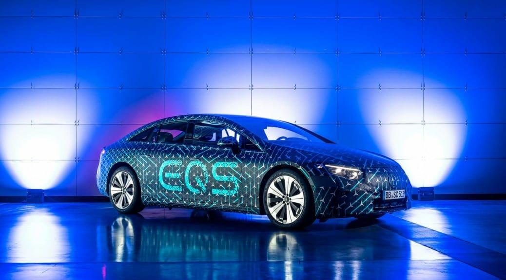 【公開目前】メルセデス・ベンツの完全電気自動車『EQS』から読み解く「世界の本気」