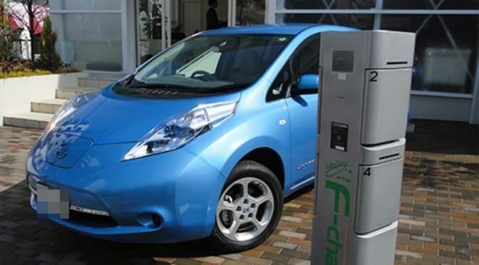 集合住宅の電気自動車用普通充電システム紹介~宅配ボックスと併設する『F-charge』