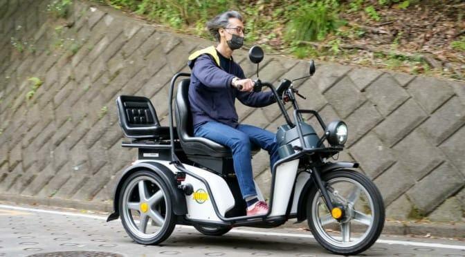 スイスの三輪EV『キーバス』日本上陸!〜政府公認の郵便配達車両の実力は?