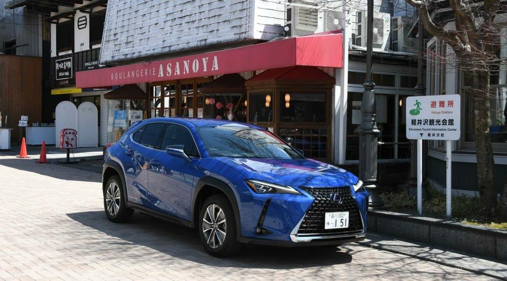 日本ではトヨタ初の量産電気自動車〜レクサス『UX300e』で軽井沢日帰り試乗レポート