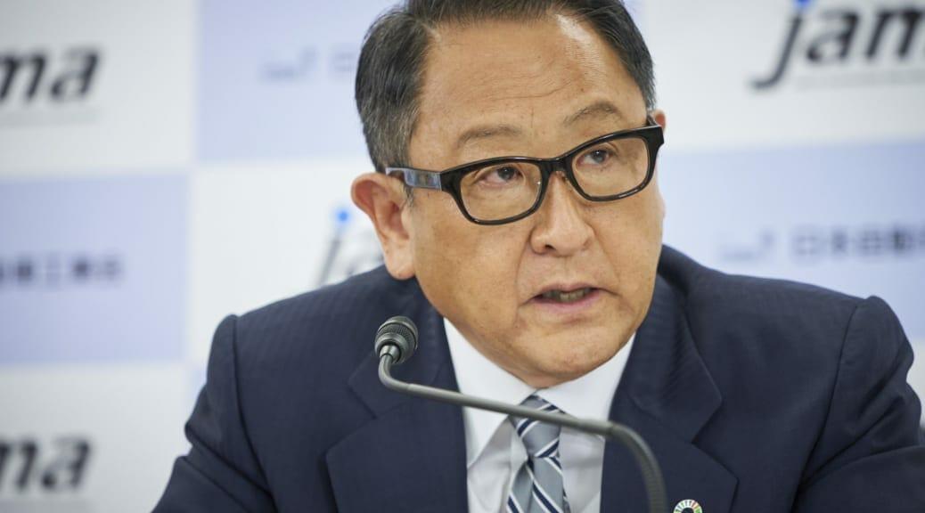 自工会豊田章男会長がEV充電インフラは「数だけを目標にしてほしくない」と指摘
