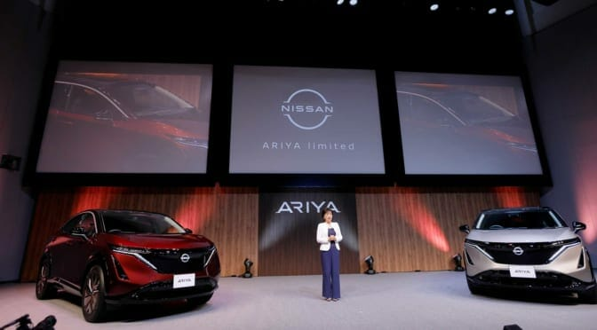 『アリア』日本専用限定車の予約受注を開始〜電気自動車が日産のフラッグシップへ