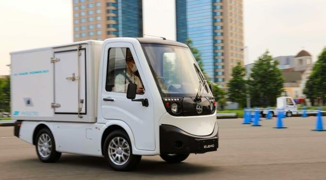 小型商用EV『ELEMO』試乗レポート〜ドライバーに優しい乗り心地【御堀直嗣】
