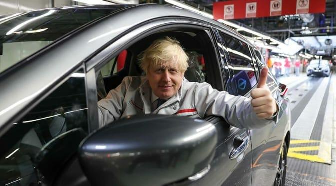 日産が英国で電気自動車&電池生産に大規模投資〜雇用拡大をジョンソン首相も大歓迎