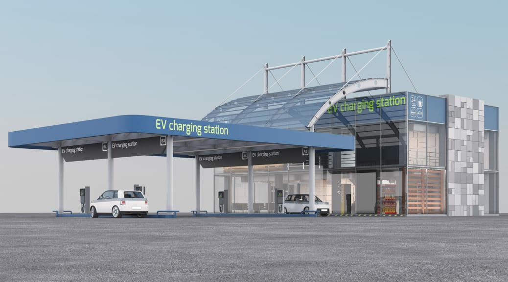 ノルウェーと英国ではEV革命によりガソリンスタンドが生まれ変わり始めた