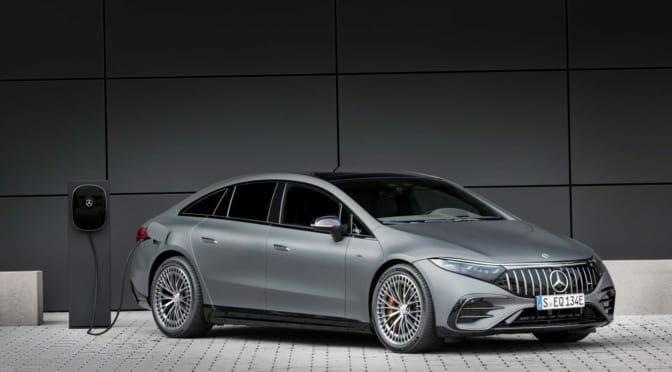 メルセデスベンツが761馬力の『AMG EQS』発表〜AMGブランド初の電気自動車