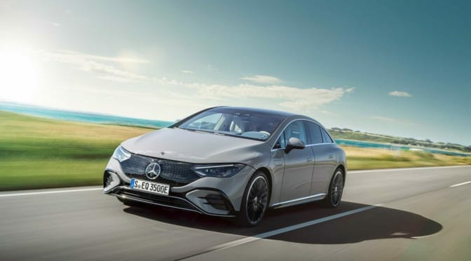 メルセデス・ベンツ『EQE』は来年発売〜電気自動車のラインナップが着々と拡充