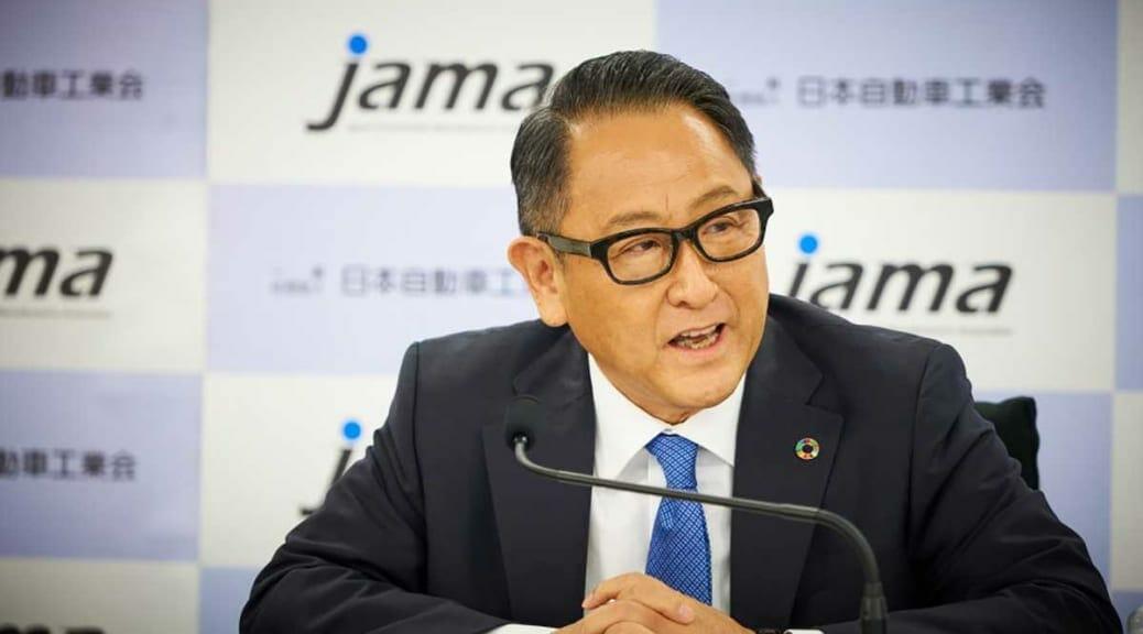 自工会豊田会長会見の「電動車フルラインナップ」説明で気になる日本の弱点とは?