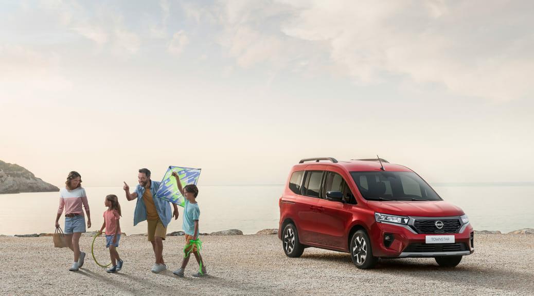 日産が欧州でEV小型商用車の新型『タウンスター』を発表~ただし欧州限定モデル