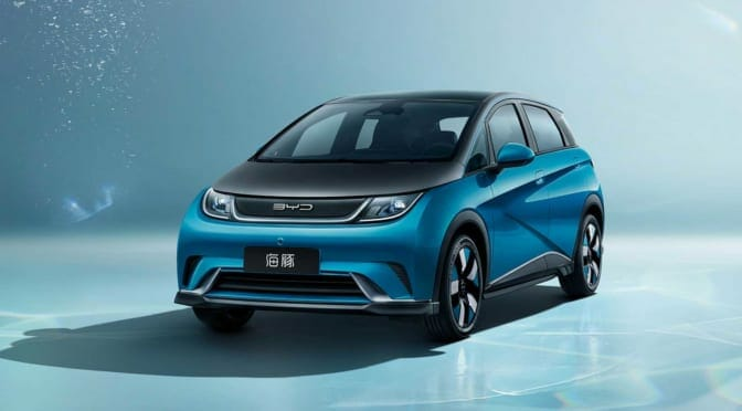 BYDが格安電気自動車『海豚』の価格を発表「約31kWhで160万円〜」
