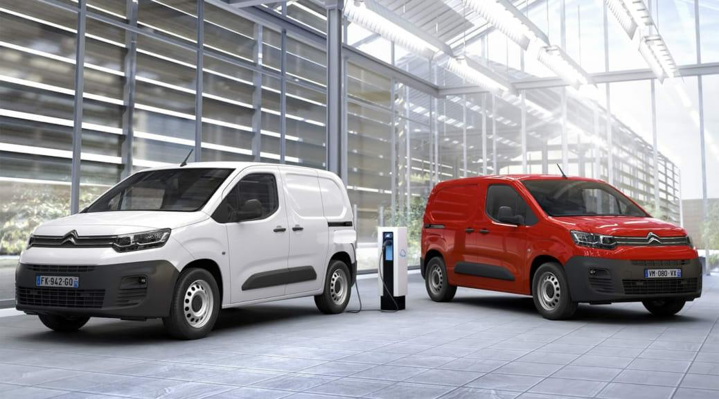 シトロエンが商用車『ベルランゴ』に欧州で電気自動車を追加~50kWhで約396万円から