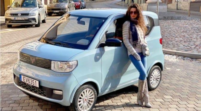 激安電気自動車『宏光 MINI EV』が『FreZe Nikrob EV』と名乗って欧州デビューしてました