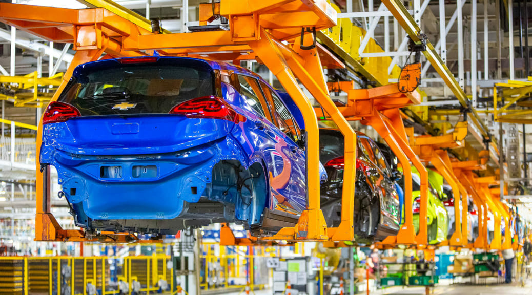 GMとLGが電気自動車『ボルトEV』などのリコール費用負担で合意〜原因はバッテリー製造上の欠陥