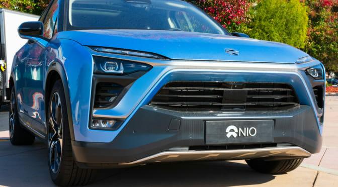 NIOが『ES8』を欧州でローンチ〜バッテリー交換のサブスクも提供